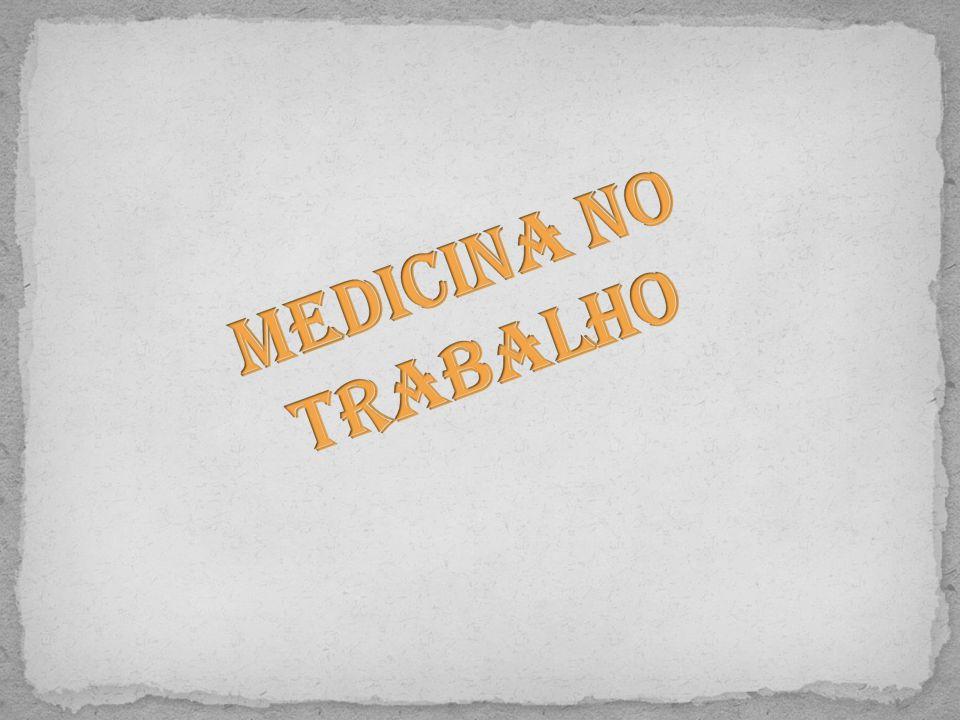 Esta especialidade médica ocupa-se da promoção e da preservação da saúde do trabalhador, através de exames médicos, como sejam: Exames médicos; Exames de admissão; Exames periódicos; Exames ocasionais; Exames complementares.