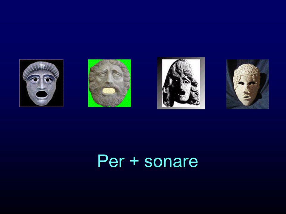 Per + sonare