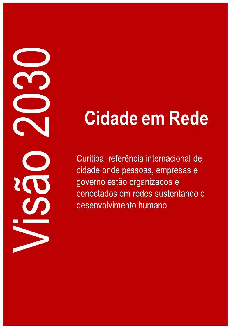 Curitiba: referência internacional de cidade onde pessoas, empresas e governo estão organizados e conectados em redes sustentando o desenvolvimento hu