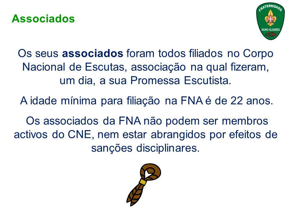 A Fraternidade de Nuno Álvares está organizada ao nível Nacional, Regional e Local (Núcleos).