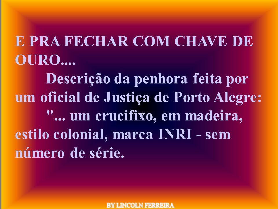 De um termo de encerramento de laudo judicial, em processo que tramitou perante Vara Cível do foro João Mendes - SP : Os anexos seguem em separado.