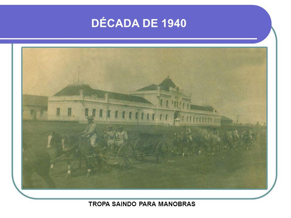 DÉCADA DE 1930 UM DOS QUARTÉIS MAIS BONITOS DO EXÉRCITO