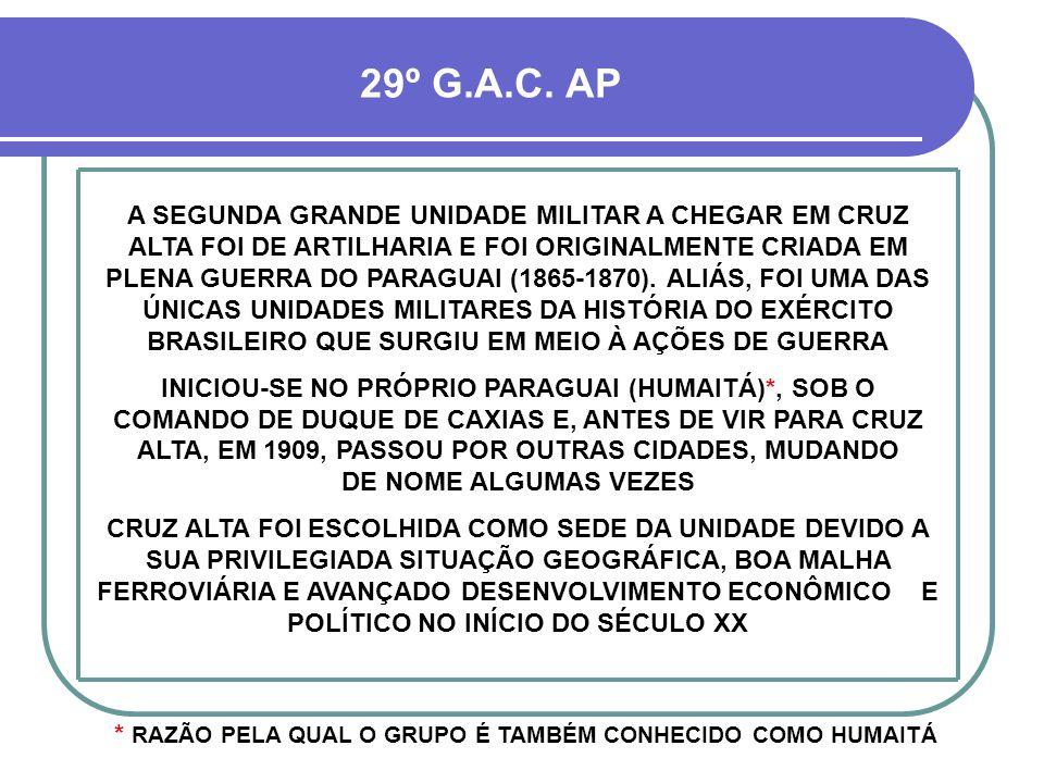 Exército Brasileiro em Cruz Alta Parte 02