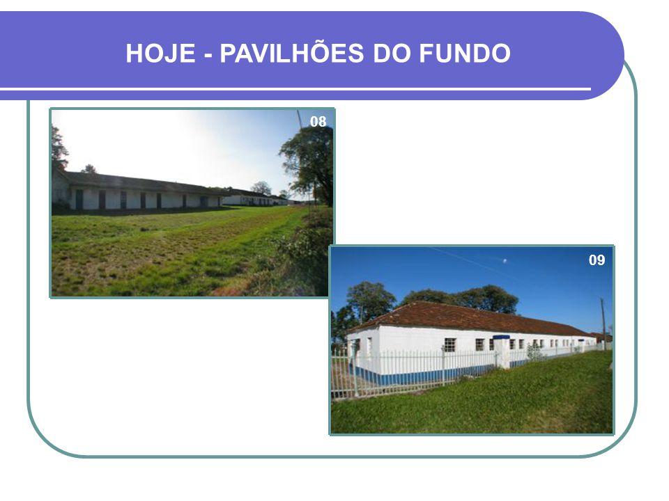PAVILHÕES DO FUNDO BAIAS DE ANIMAIS, ALOJAMENTOS, PAIÓIS, DEPÓSITOS...