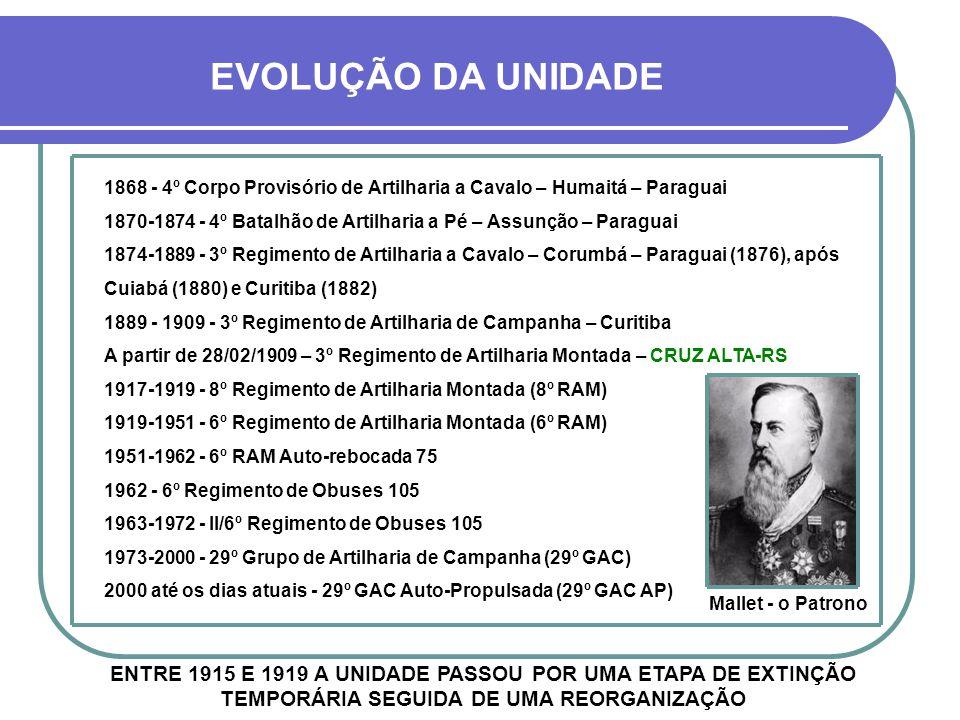 A ORIGEM REAL DA HISTÓRIA DO 29º G.A.C.