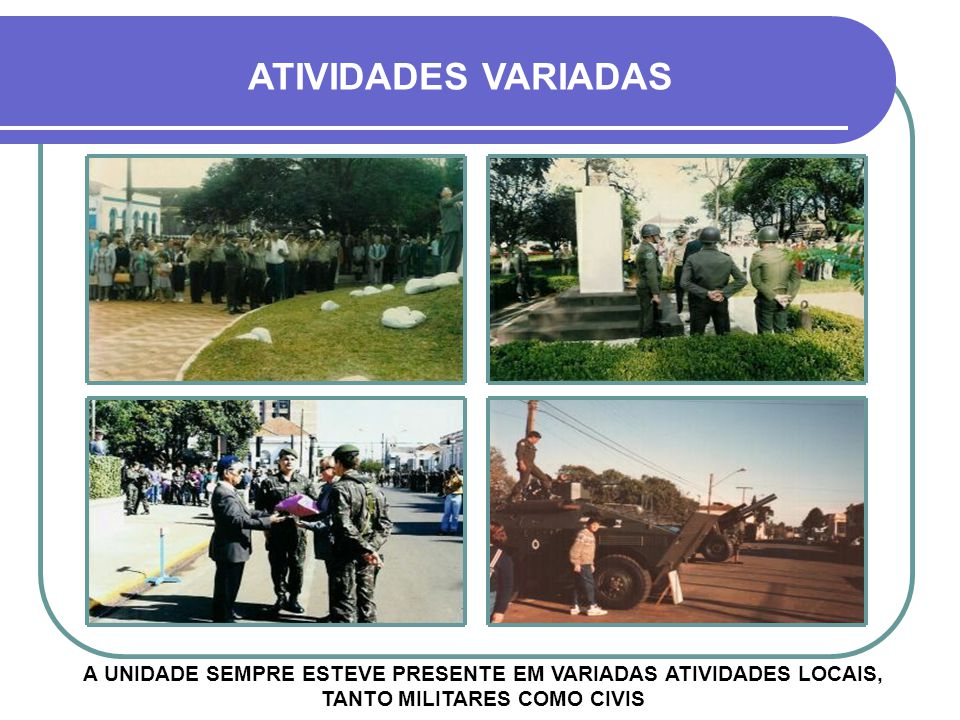 AVENIDA GENERAL OSÓRIO DESFILES DA UNIDADE