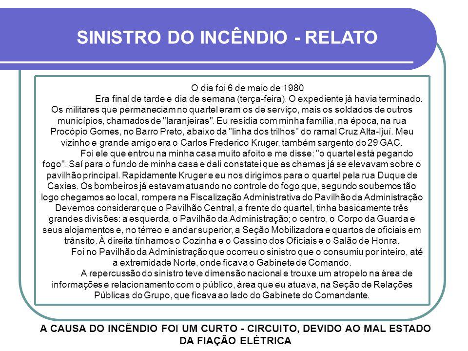 O INCÊNDIO DE 1980 UM CAPÍTULO TRISTE DA HISTÓRIA DA UNIDADE FOI O INCÊNDIO DE 1980, QUE ACOMETEU A ALA NORTE DO PRÉDIO CENTRAL