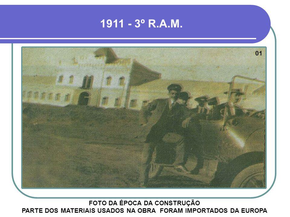 A IMAGEM DÁ IDÉIA DA EXTENSA ÁREA ADQUIRIDA PELO EXÉRCITO PARA A INSTALAÇÃO DA UNIDADE VISÃO AÉREA DE 1952 - 6º R.A.M.