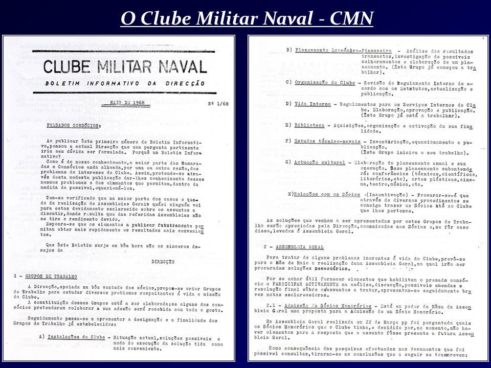 O Clube Militar Naval - CMN
