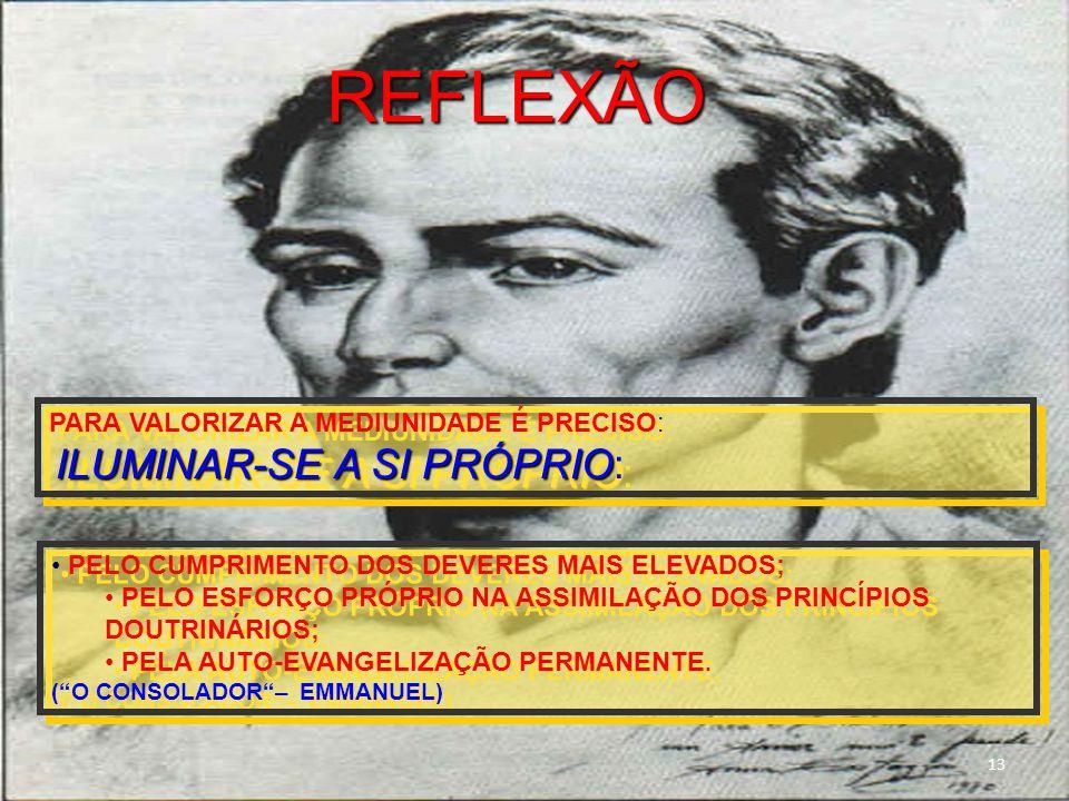 PELO CUMPRIMENTO DOS DEVERES MAIS ELEVADOS; PELO ESFORÇO PRÓPRIO NA ASSIMILAÇÃO DOS PRINCÍPIOS DOUTRINÁRIOS; PELA AUTO-EVANGELIZAÇÃO PERMANENTE.
