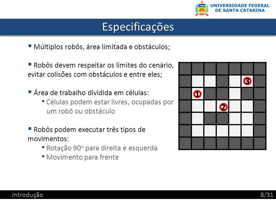 ModelagemModelagem var map: matrix:= [[-1, -1, -1, -1, -1], [-1, 2, 0, 0, -1], [-1, 0, -1, 1, -1], [-1, 0, 0, 0, -1], [-1, -1, -1, -1, -1]] Modelagem9/31