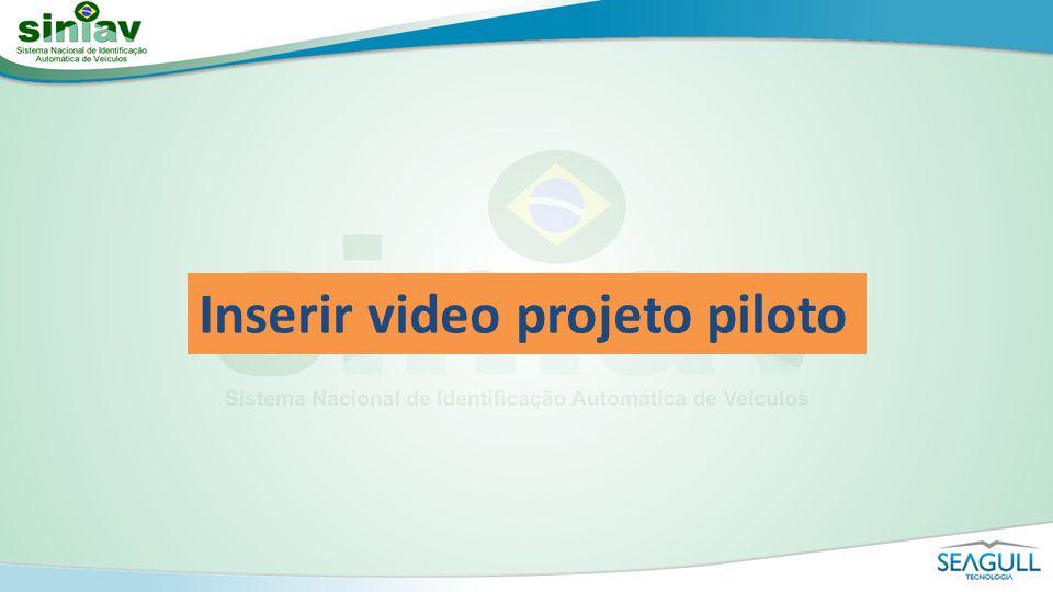 Inserir video projeto piloto
