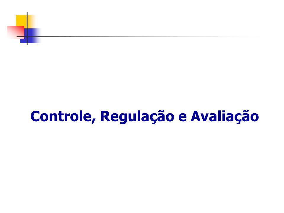 Controle, Regulação e Avaliação
