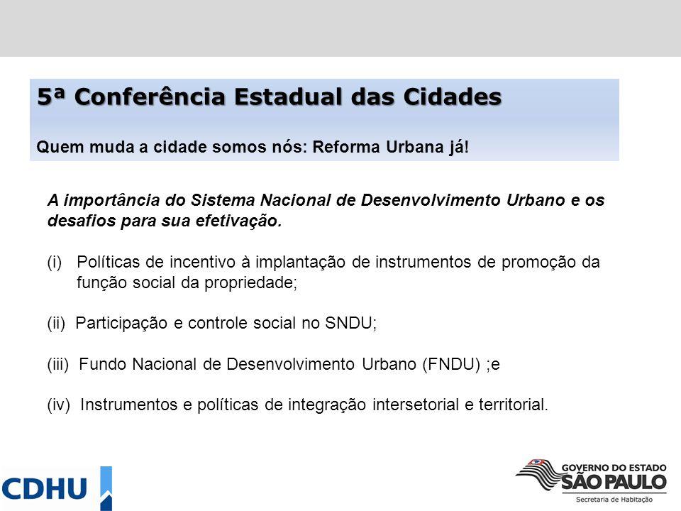 MODELO DE RELATÓRIO PROPOSTO PARA A ETAPA MUNICIPAL – 3 PARTES 1 - Estratégias para Construção do SNDU Até 30 propostas4 subtemas 2 - Prioridades do MC para a Política de Desenv.