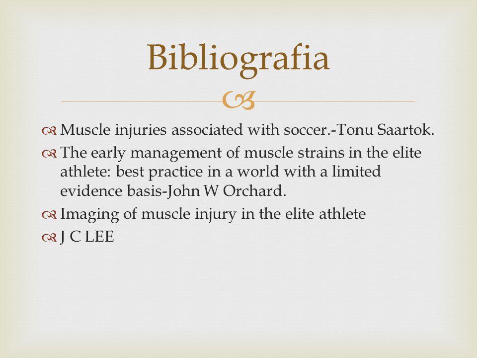 Muscle injuries associated with soccer.-Tonu Saartok.