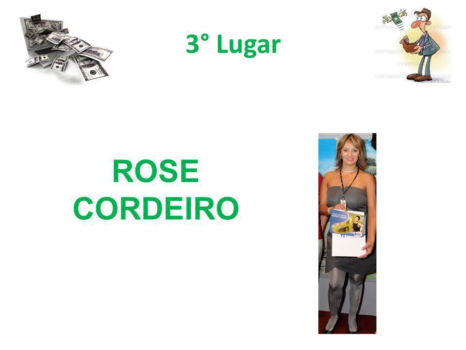 3° Lugar ROSE CORDEIRO