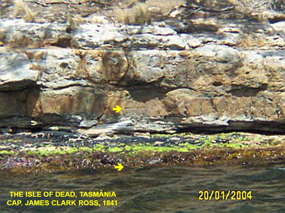 THE ISLE OF DEAD, TASMÂNIA CAP. JAMES CLARK ROSS, 1841