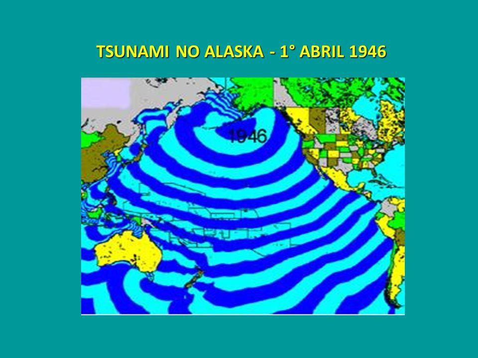TSUNAMI NO ALASKA - 1° ABRIL 1946