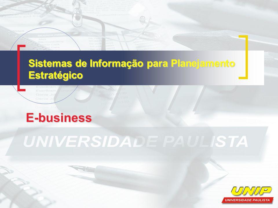 Sistemas de Informação para Planejamento Estratégico E-business