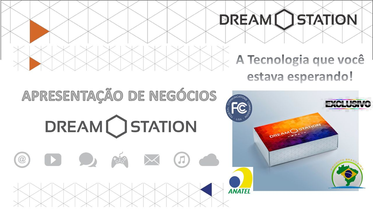 20 ANOS DE SUCESSO EM SEGMENTOS VARIADOS A Dream Station Group foi fundando por um grupo empresarial sediado no Rio de Janeiro, com atuação em todos os estados, de notável destaque no mercado brasileiro em diversos ramos de atividade.