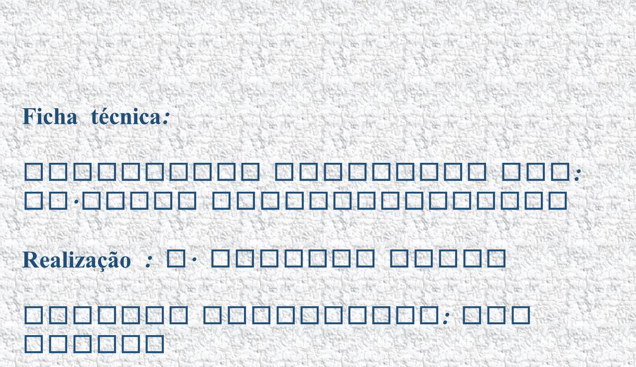 Ficha técnica : Eucaristia Celebrada por : Fr. Jacob Puthiyaparampil Realização : A. Alberto Sousa Imagens recolhidas : Via Google Projeção disponível