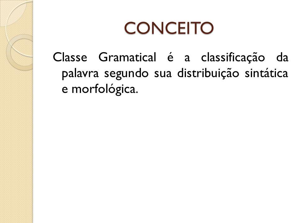 CLASSES GRAMATICAIS INVARIÁVEIS Interjeição: A interjeição é considerada palavra-frase, caracterizando-se como uma estrutura à parte.