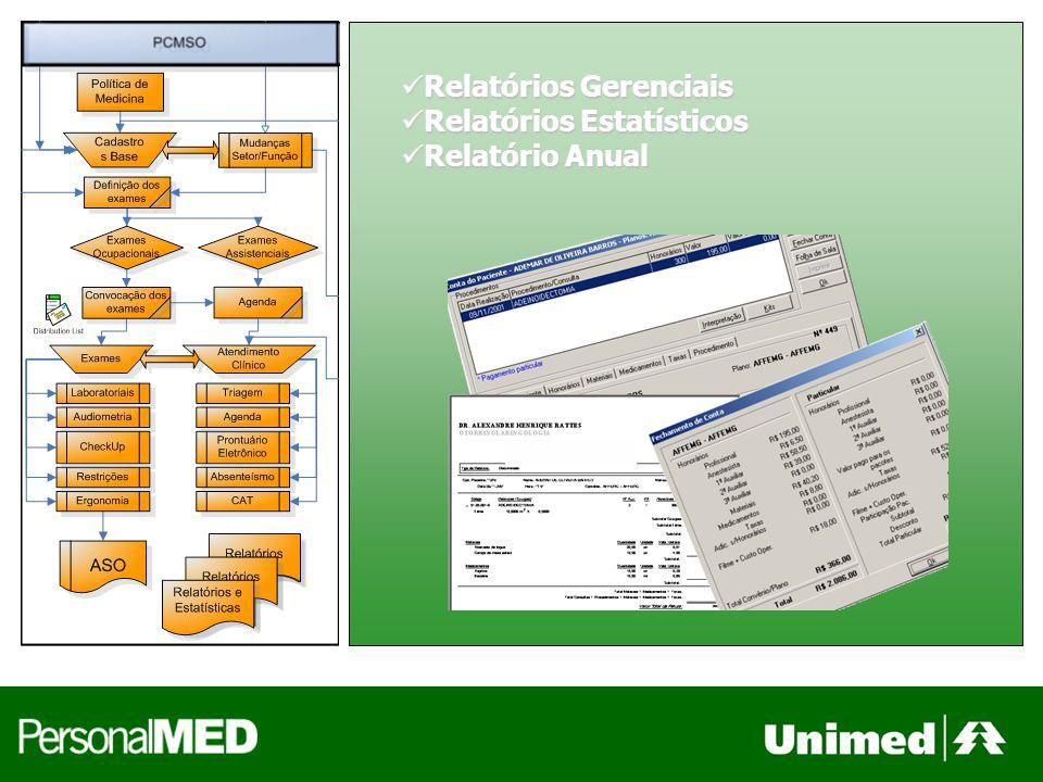 Relatórios Gerenciais Relatórios Gerenciais Relatórios Estatísticos Relatórios Estatísticos Relatório Anual Relatório Anual