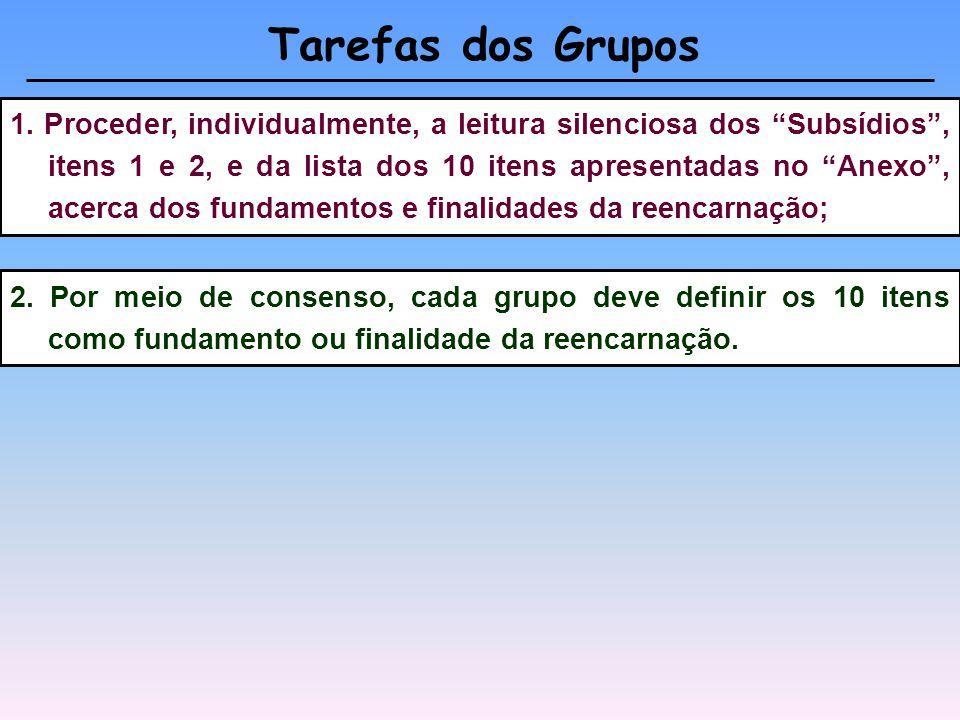 Em quatro grupos