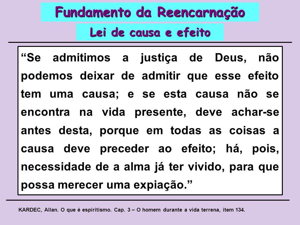 Como todos os Espíritos, sem exceção, estão destinados à perfeição, Deus, na sua Justiça Divina, lhes faculta os meios de alcançá-la por intermédio da