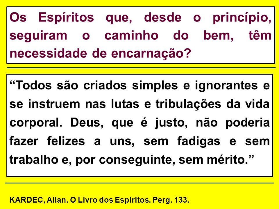 II: Mediante as diversas existências corpóreas é que os Espíritos se vão expungindo, pouco a pouco, de suas imperfeições.