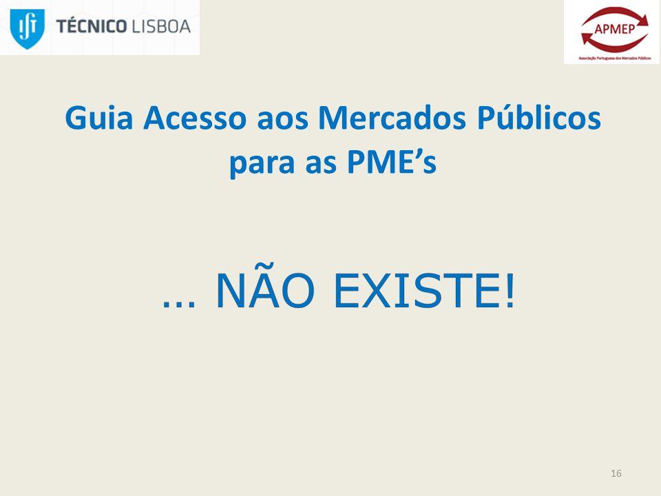 16 Guia Acesso aos Mercados Públicos para as PMEs