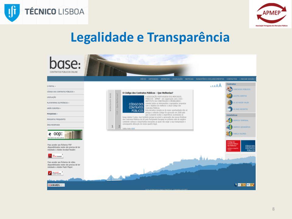 8 Legalidade e Transparência