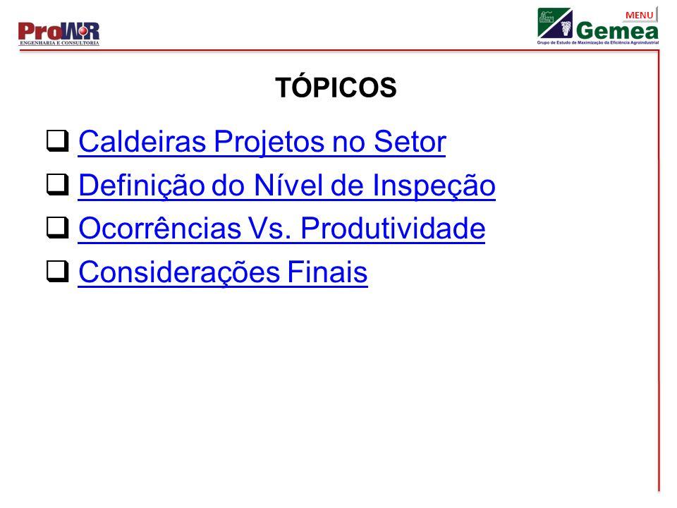 MENU Nível III - Exemplos de Ensaios ME Óxido – Medição de Camada de Óxido.