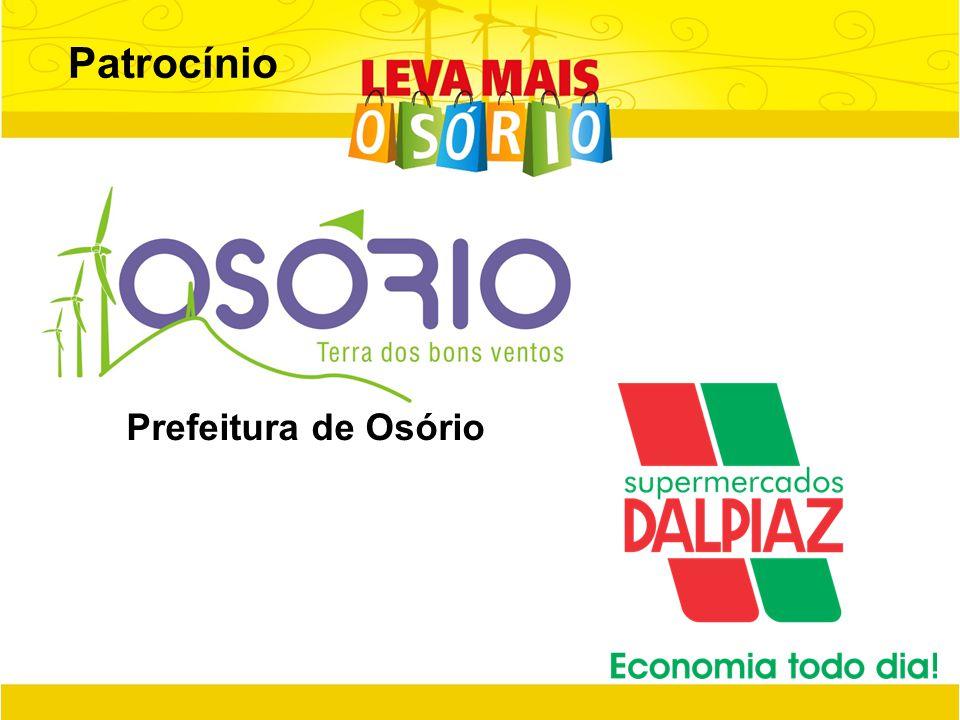 Patrocínio Prefeitura de Osório