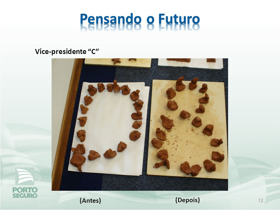 12 (Antes) (Depois) Vice-presidente C