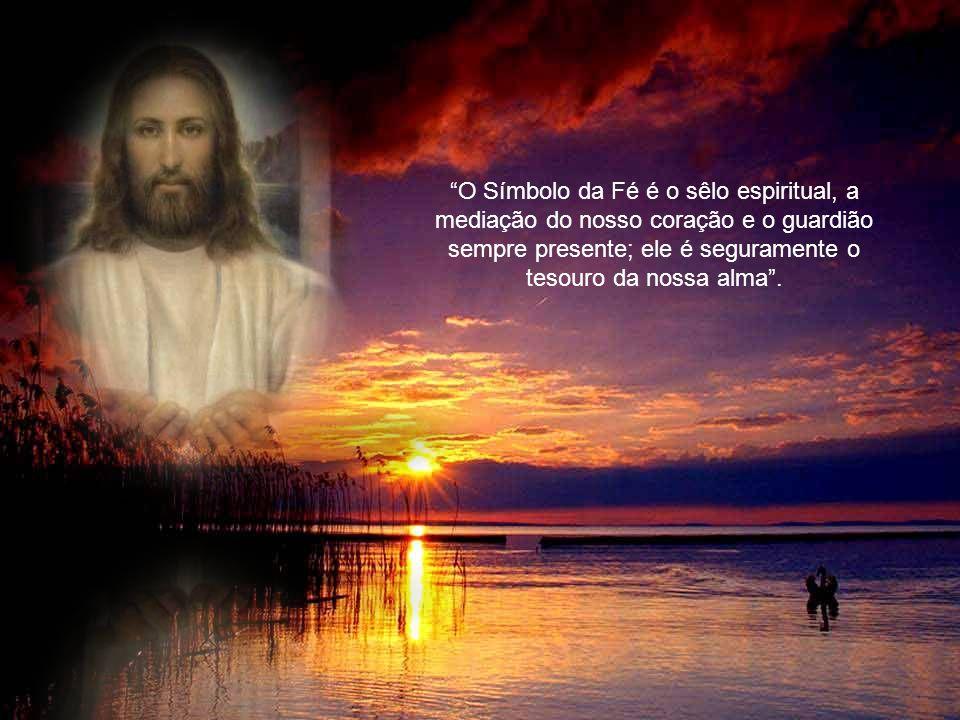 Creio em Deus-Pai, todo poderoso, criador do céu e da terra.