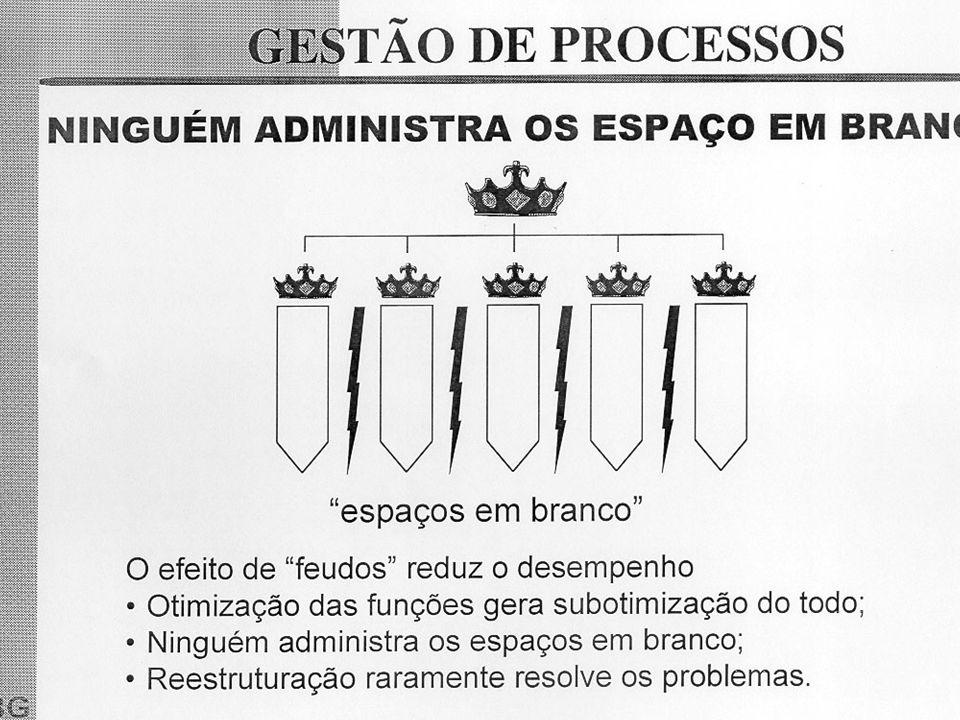 17 Exemplos de Empresas: A Motorola, a Prefeitura da Cidade do Rio de Janeiro, a Petrobrás e a IBM são exemplos bem sucedidos de empresas que aplicaram a gestão por processos.