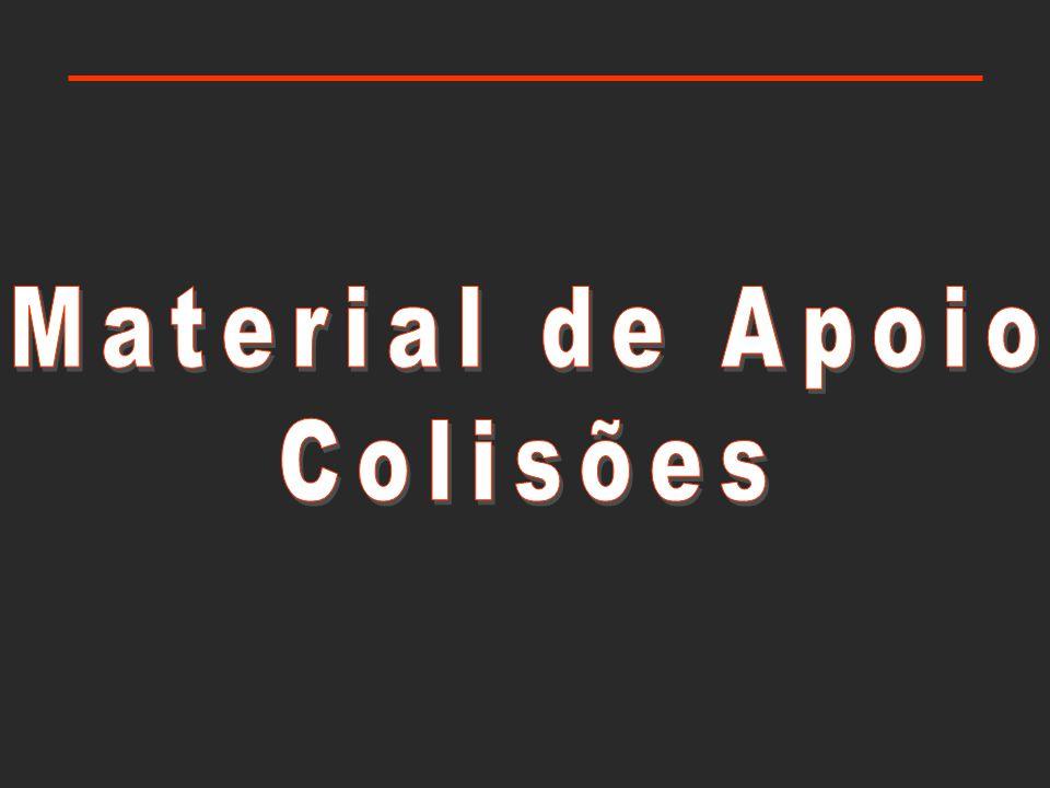 Material de apoio: colisões Impulso de uma força impluso e variação do momento linear Teorema Impulso-Momento a variação do momento linear iguala o impulso da resultante das forças aplicadas