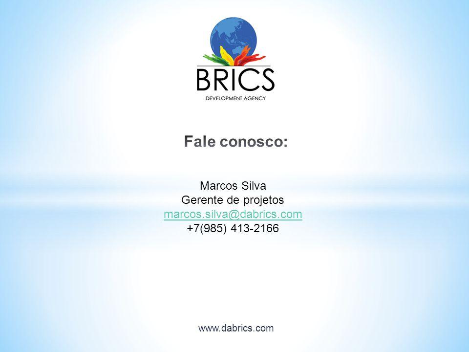 Marcos Silva Gerente de projetos marcos.silva@dabrics.com +7(985) 413-2166
