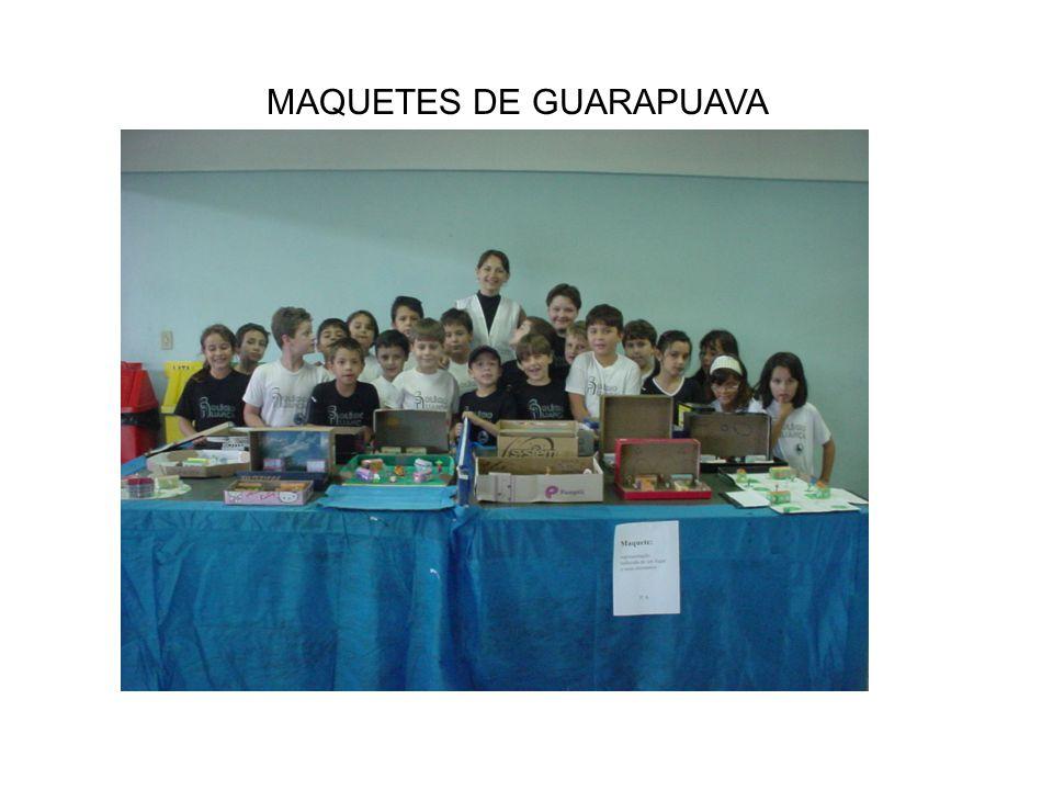 MAQUETES DE GUARAPUAVA
