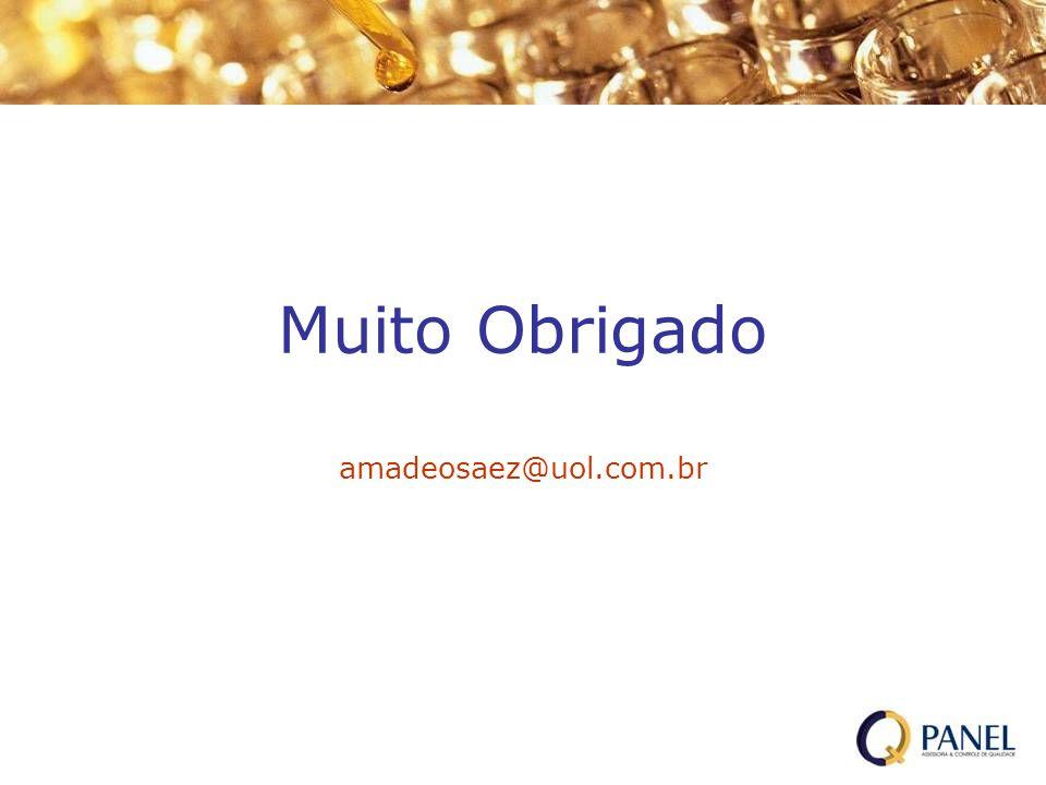 Muito Obrigado amadeosaez@uol.com.br