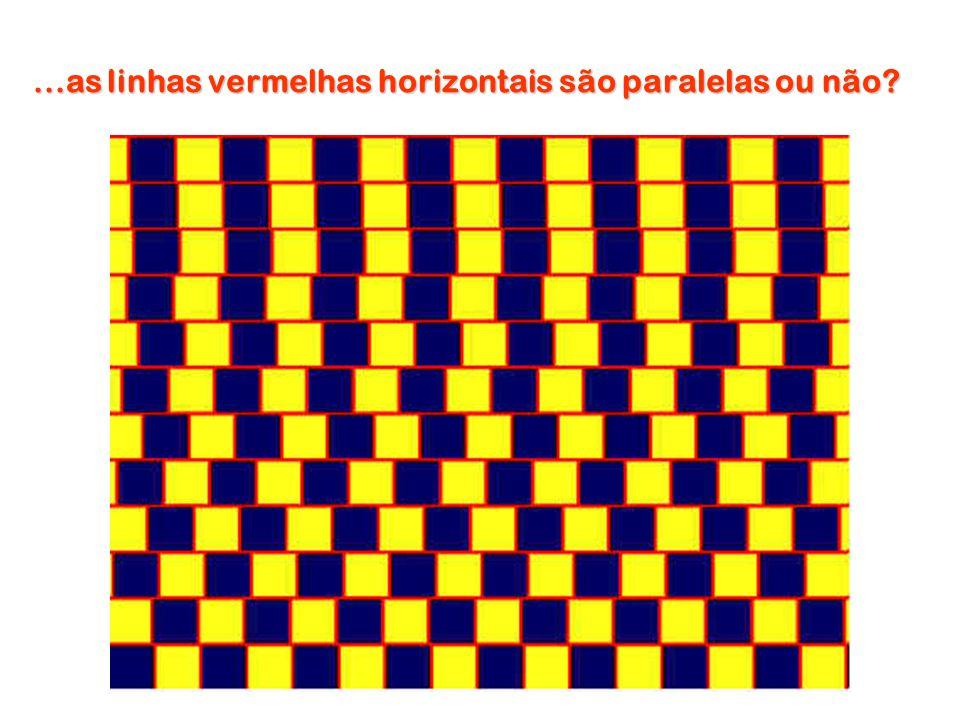 ...as linhas vermelhas horizontais são paralelas ou não?