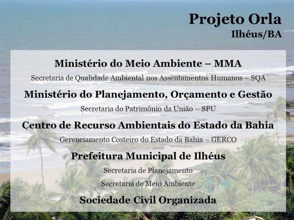 OCUPAÇAO CONVENCIONAL COM ALTO ADENSAMENTO ACESSO DIRETO E INDIRETO ATIVIDADES DE PESCA, HOTELARIA, COMERCIO DE ALIMENTOS, ARTEZANATO, MARISCAGEM E INDUSTRIA USO PRINCIPAL: RESIDENCIAL, VERANEIO, PESCA E COMERCIO Projeto Orla Ilhéus/BA CARACTERIZAÇÃO