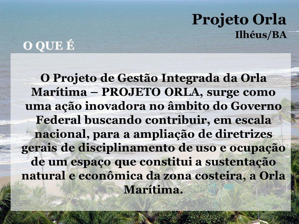 Bairro São Miguel – Praia e fundos das casas Projeto Orla Ilhéus/BA