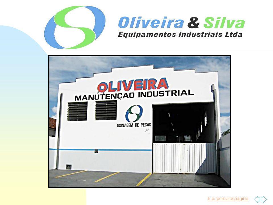 Ficha Cadastral DADOS GERAIS RAZÃO SOCIAL: Oliveira & Silva - Equipamentos Industriais Ltda - ME END.:Av.