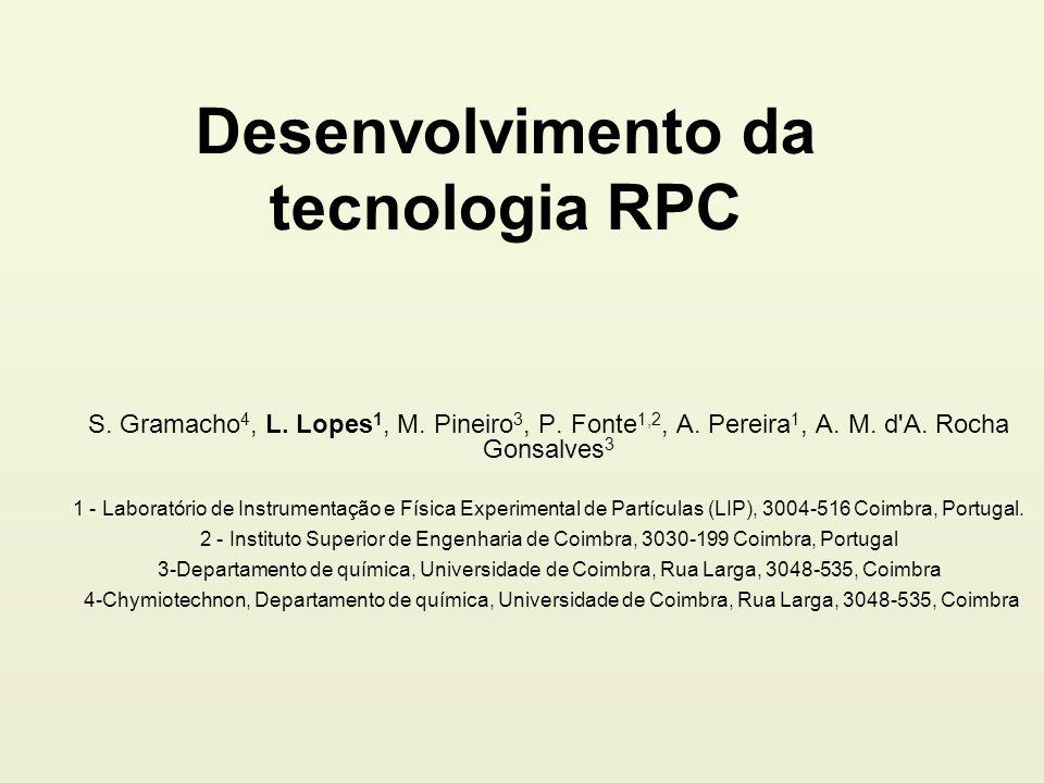jLIP2010 RPC para cósmicos L.