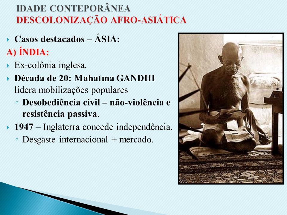 1980 – Campanhas internacionais condenam o Aparthaid (sanções). 1984 – Revoltas populares intensificam-se (ampla repressão). 1989 – início da transiçã