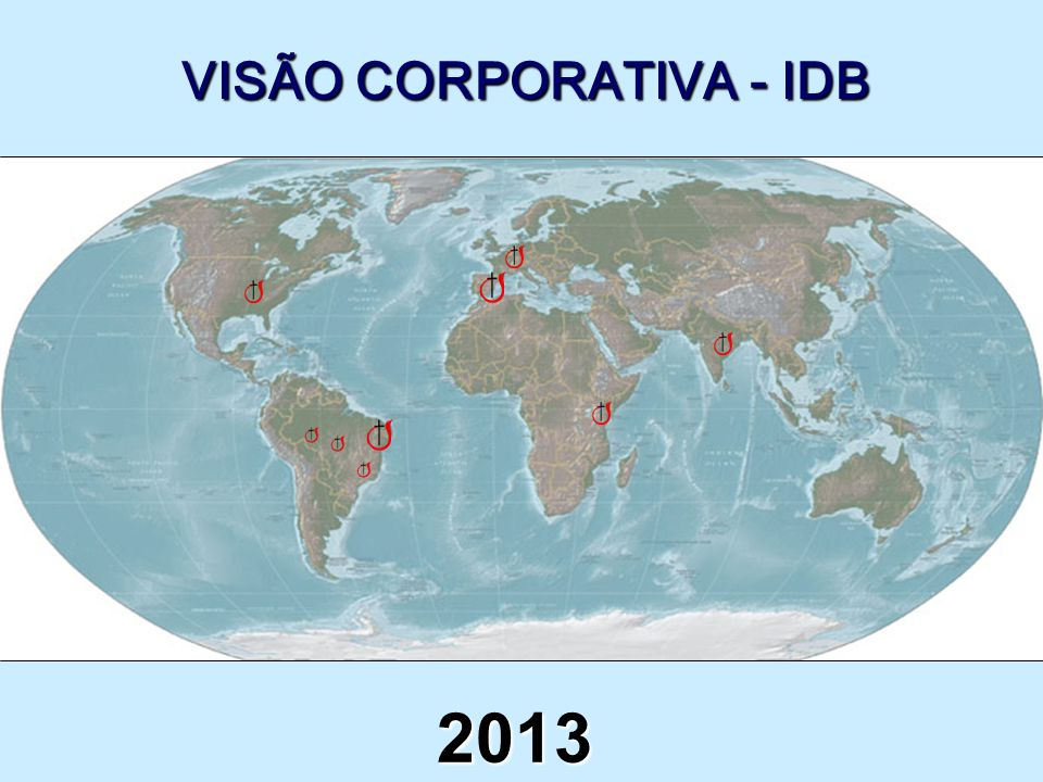 VISÃO CORPORATIVA - IDB 2013