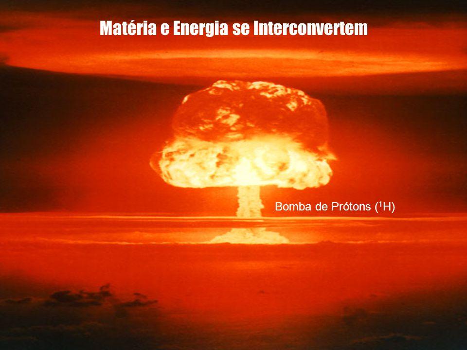 Matéria e Energia se Interconvertem Bomba de Prótons ( 1 H)