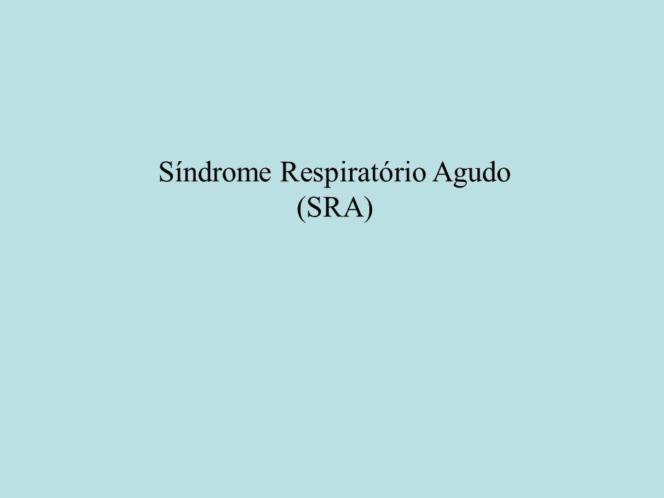Síndrome Respiratório Agudo (SRA)